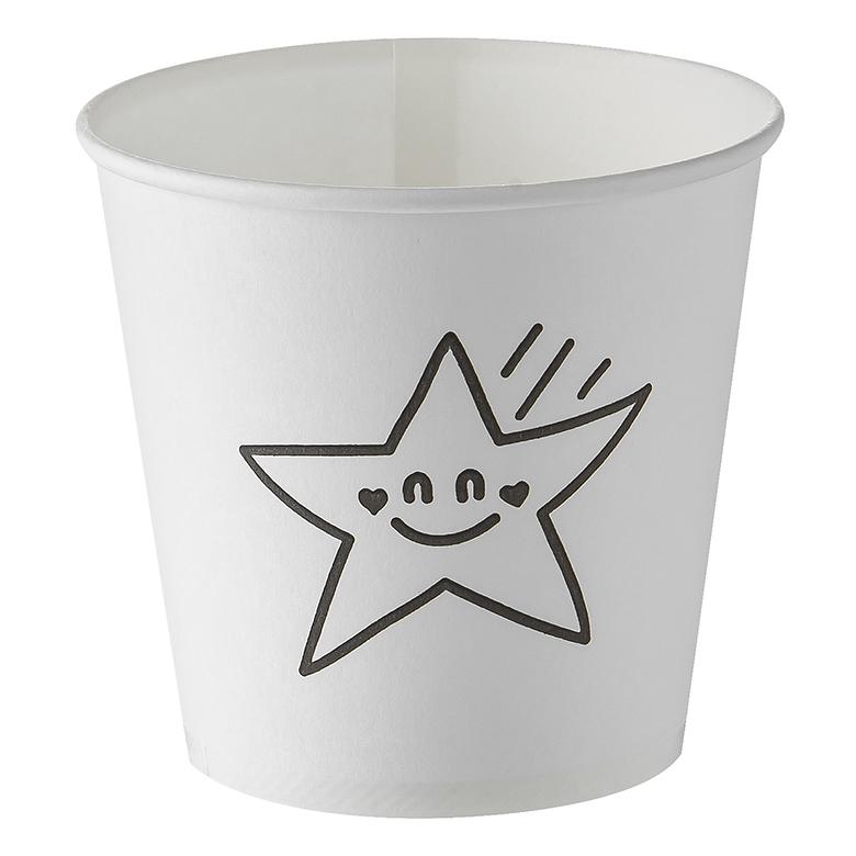 별모양이 그려져있는 탐사 종이컵